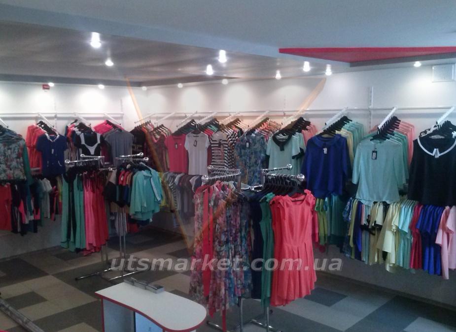 Магазин одежды с нашим оборудованием