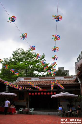 台灣民俗文物館五彩繽紛的剪紙