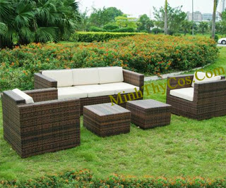 Rattan Sofa Set-MT153
