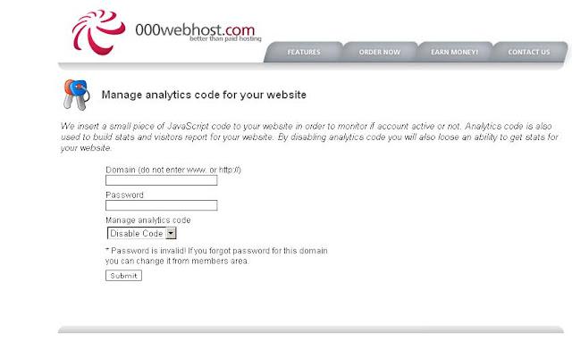 Clean URL di 000webhost