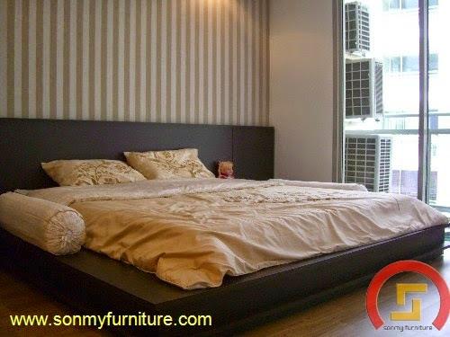 Mẫu giường ngủ SMF 745