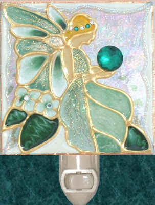 Green Fairy night light