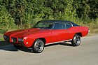 3Day NO RESERVE  70 GTO 4 SPEED PHS DOCUMENTED CARDINAL RED firebird Trans Am