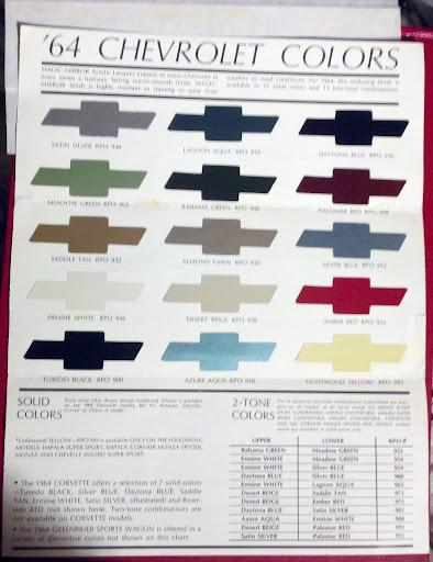 Impala Ss Color Autos Weblog
