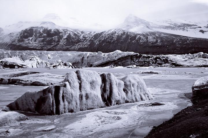 Svinafellsjokull Arctic Blues