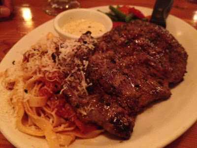tuscan ribeye at Carinos