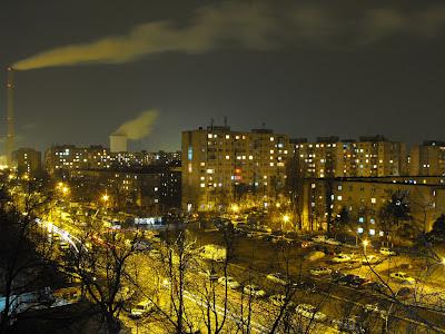 Bucuresti, noaptea - Bulevardul Brancoveanu
