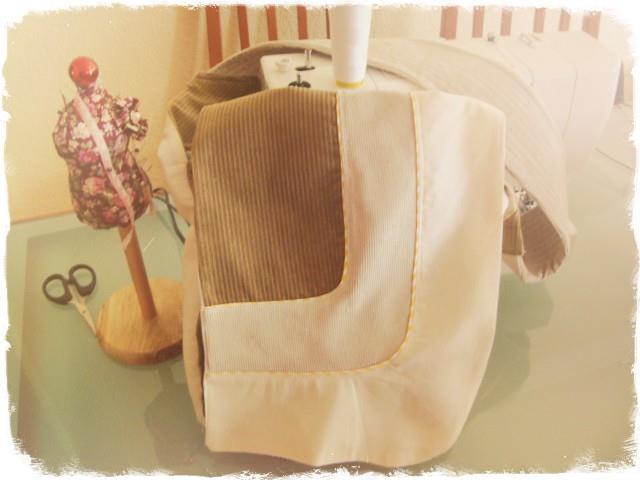 Serger Pepper - Hands-Free Asymmetrical Bag PDF pattern
