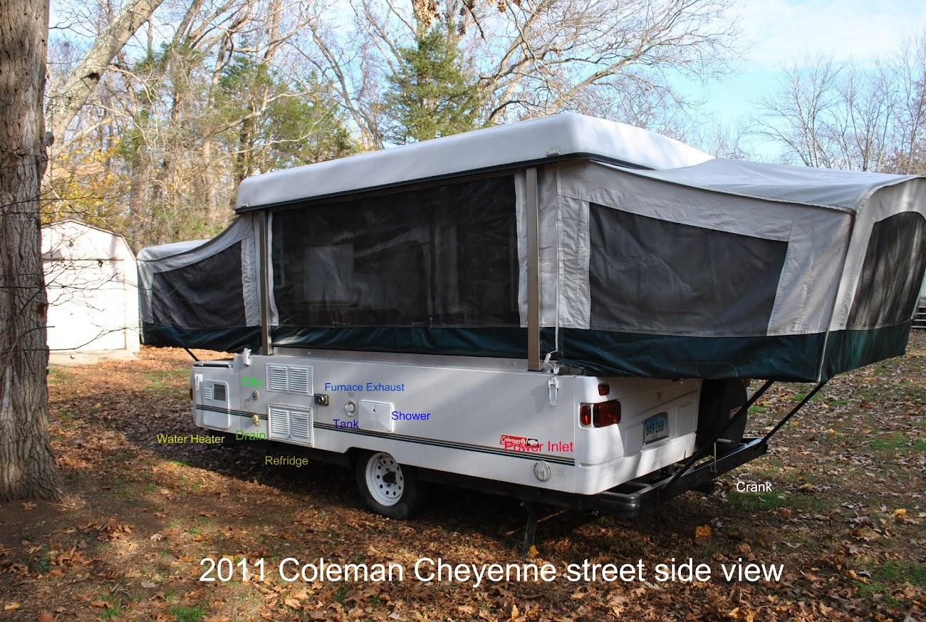 2001 Coleman Cheyenne Water pump | PopUpPortal