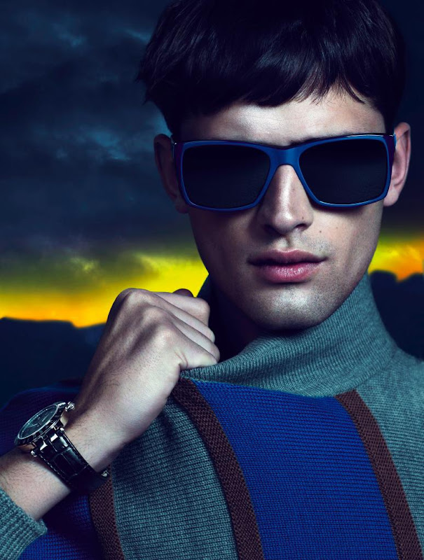 Sean O'Pry @ VNY by Mert & Marcus for Versace F/W 2011