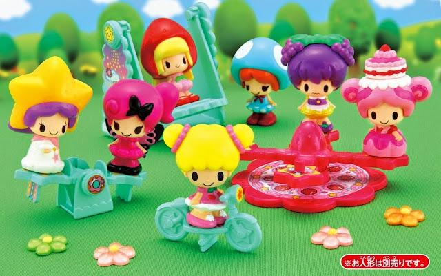 Kết hợp đồ chơi Công viên Star KP-05 với thật nhiều búp bê Koeda để chơi vui hơn