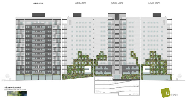 Opciones para jardín vertical en Barcelona - Opción 20 metros