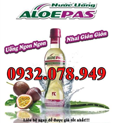 Nha Đam Chanh Dây AloePas - Chai