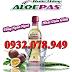 Nước uống Nha Đam Chanh Dây ALOEPAS - Uống ngon ngon, Nhai giòn giòn