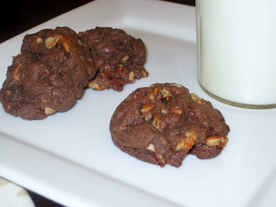 Extra-Chocolatey Brownie Cookies