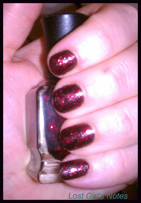 deborah lippmann red ruby slippers swatch
