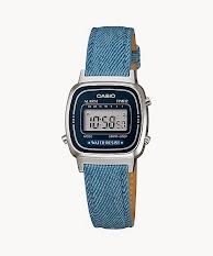 Jam Tangan Wanita Analog Tali Kulit  Casio Standard : LTP-1410L-7A1V