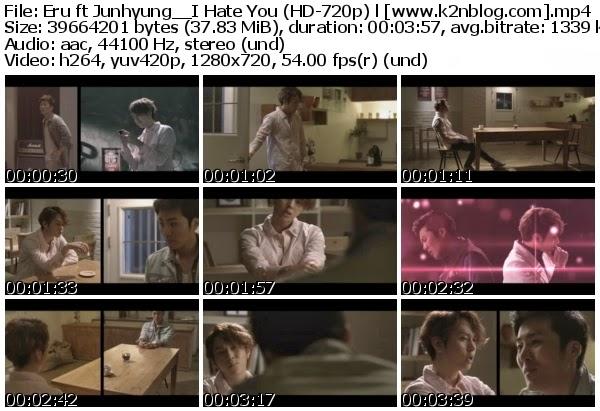 Download Mv Eru Ft Junhyung Beast I Hate You Hd 720p Youtube