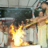 Brahmotsavam 2014 - PurnaAhuthi - Dwajavarohanam