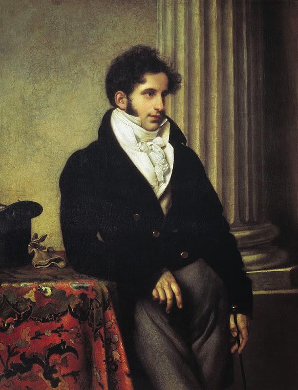 Orest Kiprensky - Portrait of Sergey Uvarov, 1815