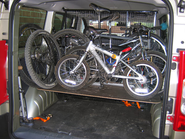 Van Mpv Bike Storage Solutions Pictures Please