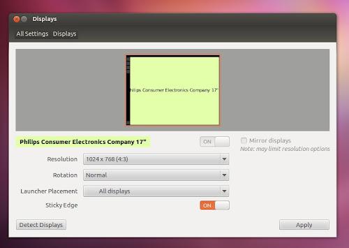 Ubuntu 12.04 Precise Pangolin LTS Beta 2 nuovo gestiore dello schermo