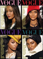 Portada, Vogue Italia, Vogue, All Black, 2008, Julio