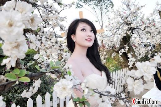 Trang Cherry khoe sắc cùng xuân