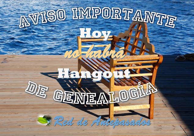 Genealogía hangout