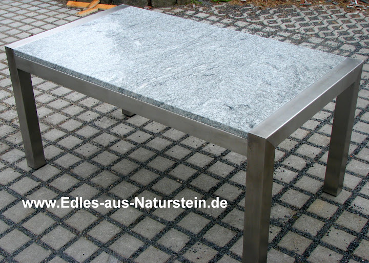 esstisch wohnzimmertisch gartentisch terrassentisch naturstein 200 90 granit ebay. Black Bedroom Furniture Sets. Home Design Ideas