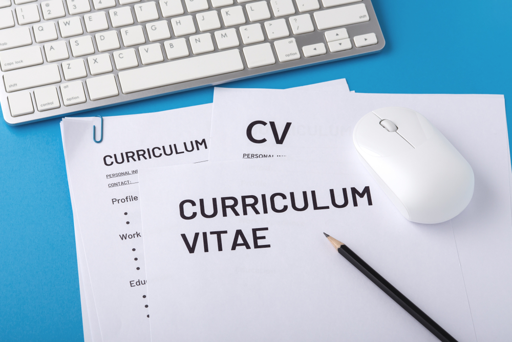 A Curriculum Vitae (CV)