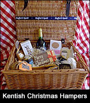 Christmas hampers luxury london