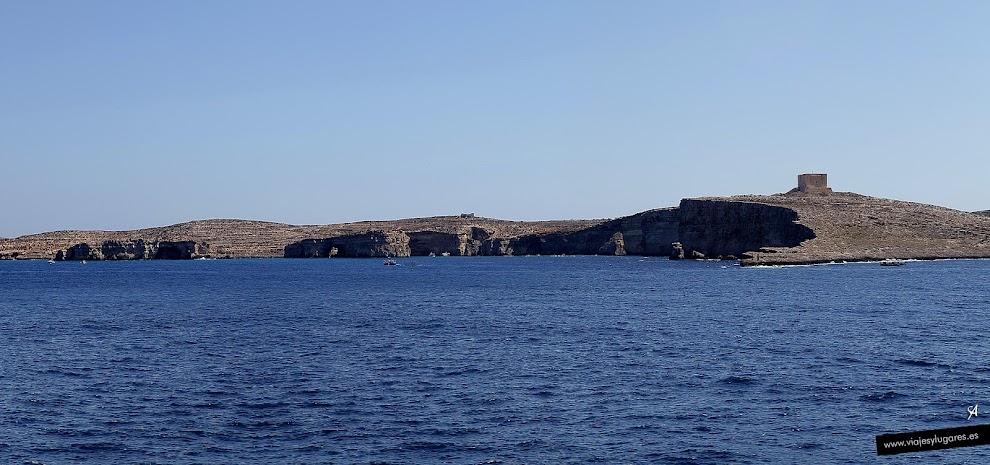 Ferry en Cirkewwa, a Gozo
