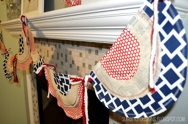 Patrotic Bunting Banner Tutorial