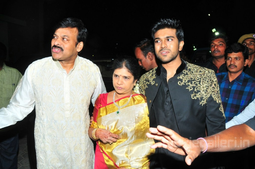 Chiranjeevi Family Allu Arjun Marriage Pictures New