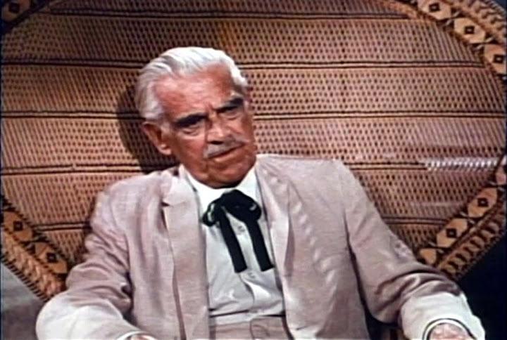 Boris Karloff in Jack Hill's Snake People (1971)