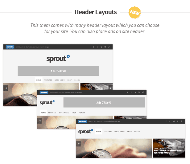 Sprout - Clean Blog/News/Magazine Responsive Theme