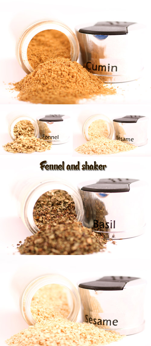 Stock Photo: Spices and fragrant seeds