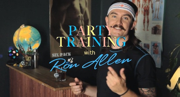 Party Training with Ron Allen for Björn Borg