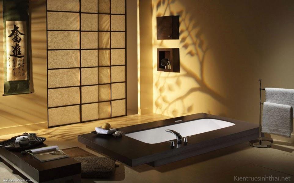 Phòng tắm kiểu nhật