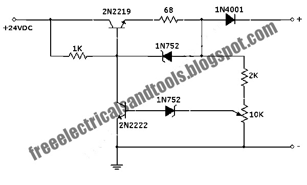 free schematic diagram  auto off 12v nicad battery charger circuit