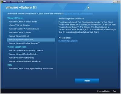 VMware-Menu