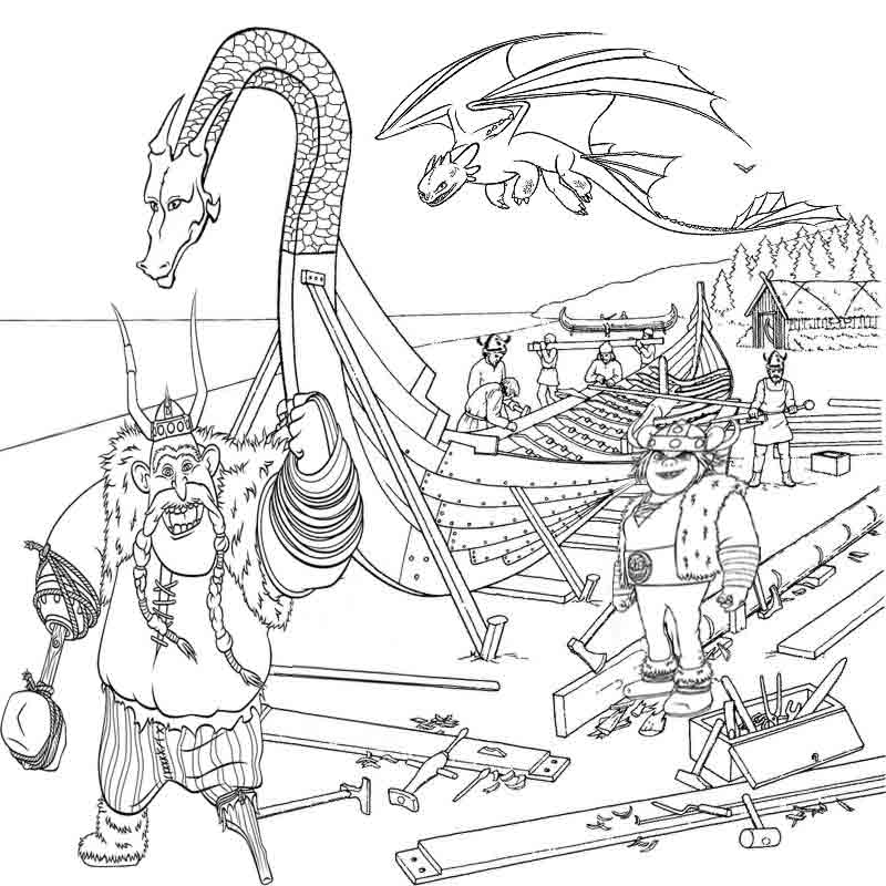 These coloring pages allow your kids to indulge their imagination to roam away from their daily routines to some unknown fantasy land where they can have fantastic adventures with the fairy tale creatures. Free Printable Dragon Coloring Pages