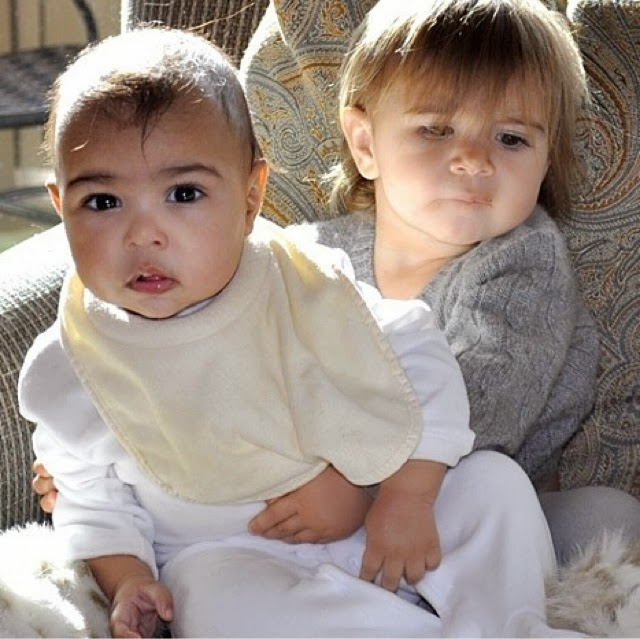 Kim kardashian s baby north west does not