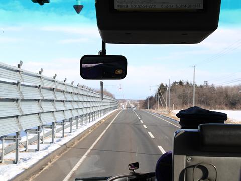 くしろバス「特急ねむろ号」 ・129 車窓 その2