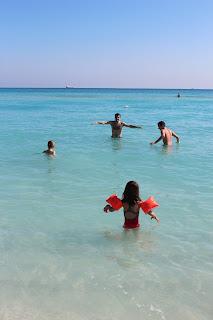 La mer à Miami est magnifique!