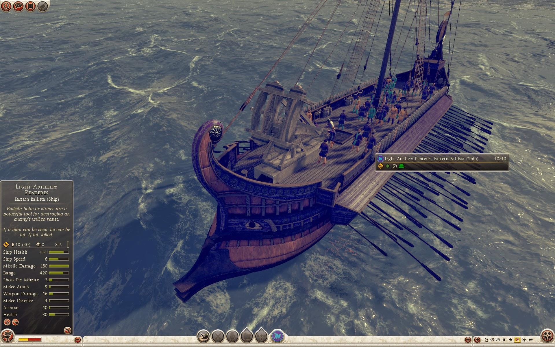 Light Artillery Penteres - Eastern Ballista (Ship)