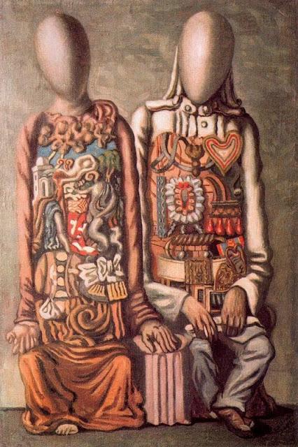 Giorgio de Chirico - Colonial mannequins
