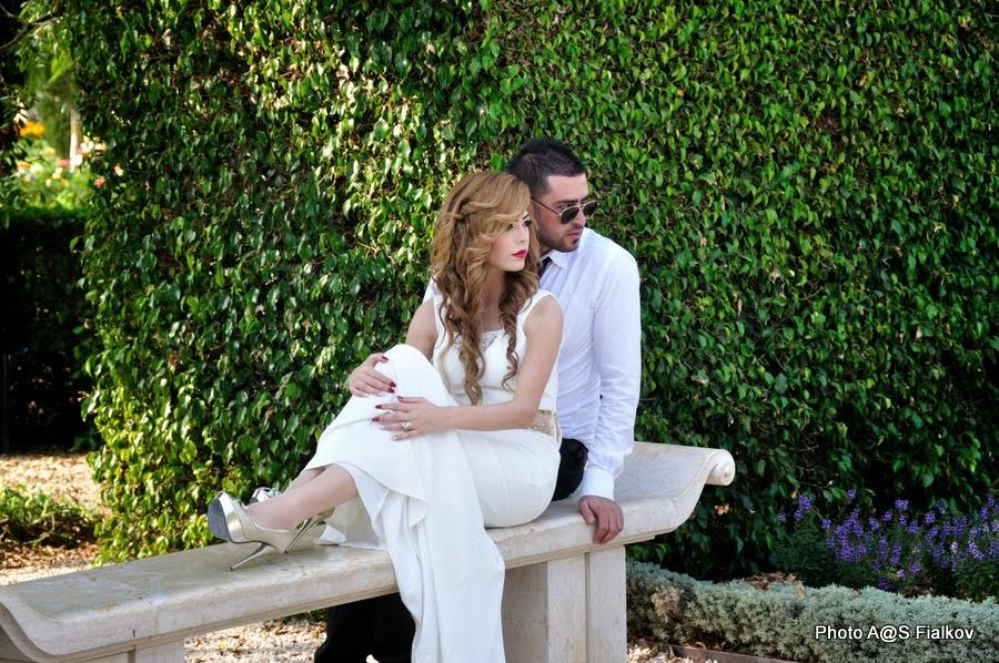 Свадьба в Бахайских садах в Акко. Экскурсия по Западной Галилее. Гид в Израиле Светлана Фиалкова.
