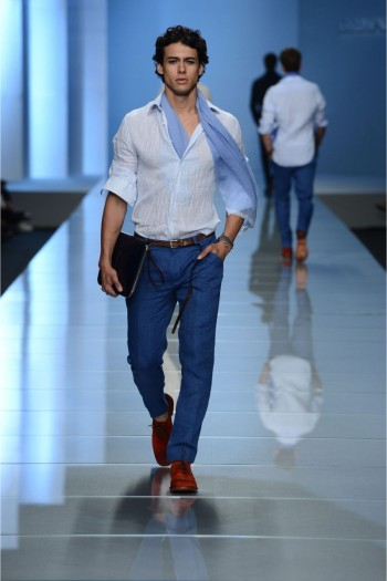 Ermanno Scervino at Milan Fashion Week [men's fashion]